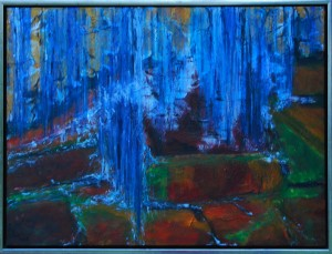 Açores ll - acryl på lærred - 60 x 80 cm - 2.500,- kr.