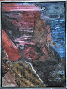 Açores lll – acryl på lærred – 80 x 60 cm – 2.500 kr