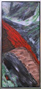 Açores lV – acryl på lærred – 90 x 40 cm – 2.800,- kr.