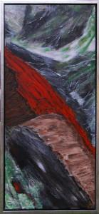 Açores lV - acryl på lærred - 90 x 40 cm - 2.800,- kr.