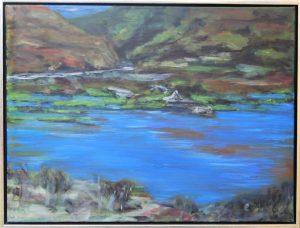 Açores V – acryl på lærred – 60 x 80 cm – 2.500 kr