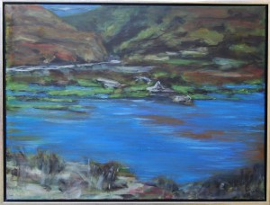 Açores V – acryl på lærred – 60 x 80 cm – 2.500 kr.