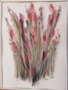 Akvarel Rosa (nr. 12) - 24 X 18 cm - Pris 280,- kr.