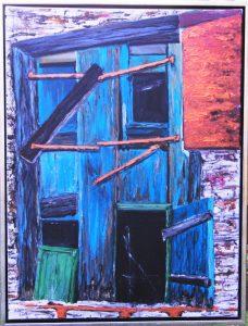 Græske Døre ll – acryl på lærred – 80 x 60 cm – 3.000,- kr.