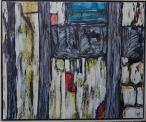 Murværk ll – acryl på lærred  - 79 x 95 cm – Pris 3.500,- kr.