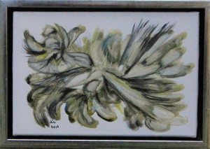 Vignet – 20 x 30 cm – acryl på lærred – 380,- kr.