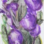 Violette oliven